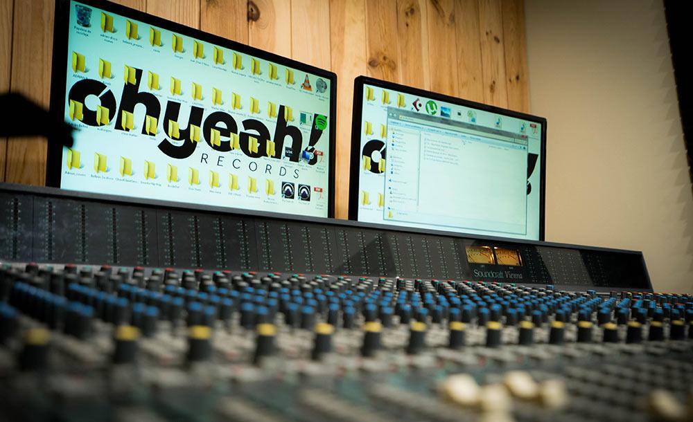 estudio de grabacion oh yeah records